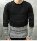 MAGLIONE - GIANNI LUPO - ART. BW539 - COL. BLACK