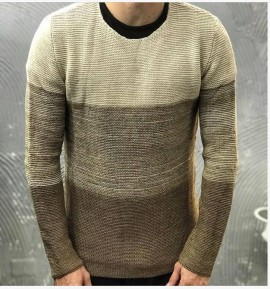 MAGLIONE - GIANNI LUPO - ART. BW539 - COL. CAMEL