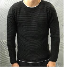 MAGLIONCINO - GIANNI LUPO - ART. BW537 - COL. BLACK