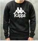 FELPA AUTHENTIC ESLOGARI - KAPPA - ART. 303LRW0 - COL. BLACK