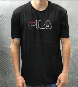 T-SHIRT UNISEX MEN PAUL TEE  - FILA - ART. 687137 -  COL. BLACK