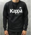 FELPA AUTHENTIC BZALI - KAPPA - ART. 04L1T0 - COL. BLACK/GREY SILVER