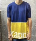 T-SHIRT AUTHENTIC SAND CARRENCY  - KAPPA - ART. 304S430 - COL. BLUE MD/YELLOW/WHITE (905)