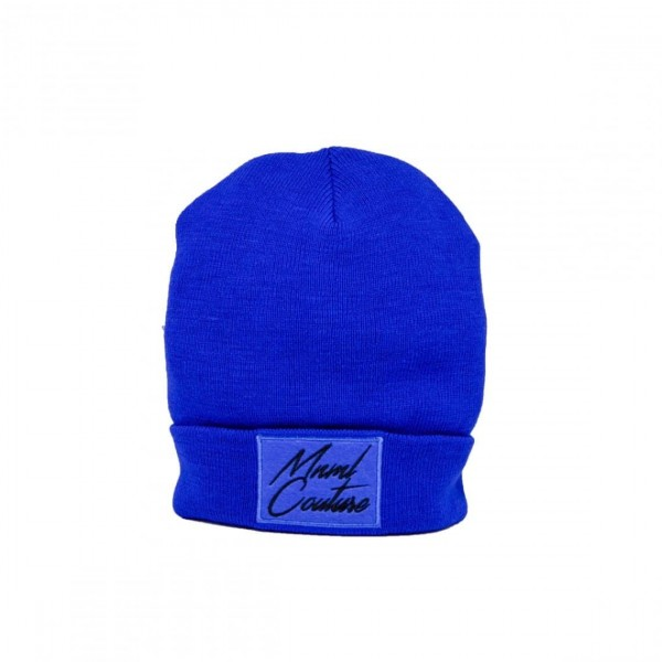 BEANIE MINIMAL - ART. 0143 - COL. ROYAL/NERO