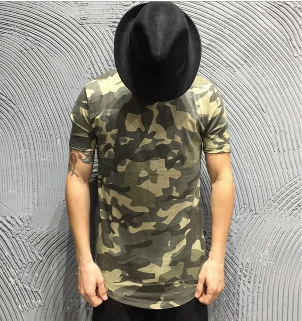 ONLY&SONS T-SHIRT - ART. 22007003 - COL. OLIVE NIGHT