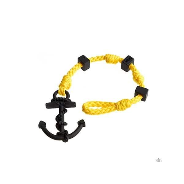 BRACCIALETTO SQUARE - MIA's - Sole/black bracciale Ancora e nodi
