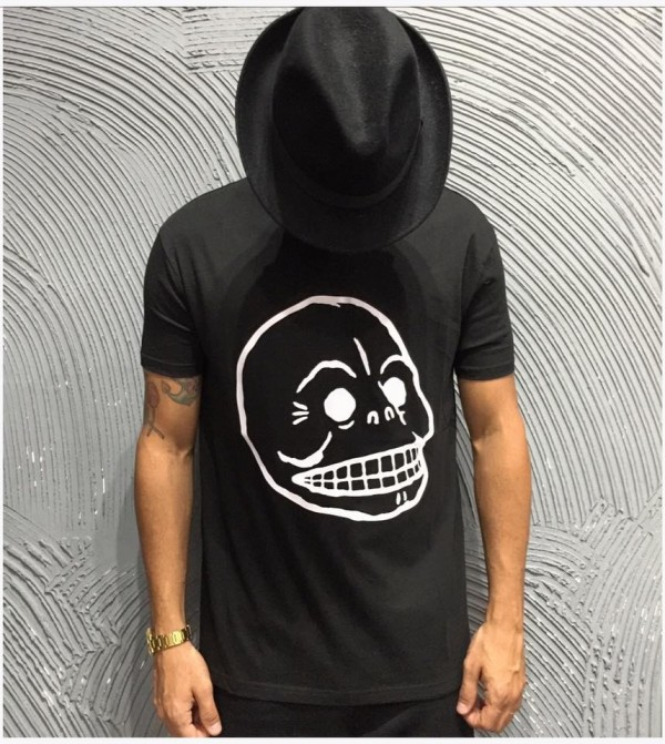 CHEAP MONDAY T-SHIRT - ART. STANDARD TEE SKULL - COL. NERO