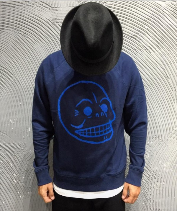 CHEAP MONDAY FELPA - ART. RULES SWEAT - COL. NEW BLUE
