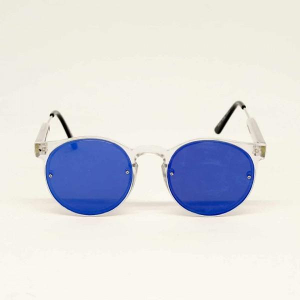 OCCHIALI - SPITFIRE - MOD. POST PUNK - COL. CLEAR/BLUE MIRROR